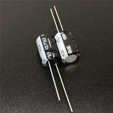 10 pces/100 pces 470 uf 35 v nichicon vr série 10x16mm 35v470uf alumínio capacitor eletrolítico