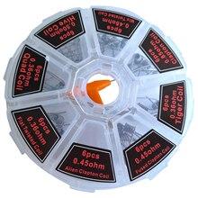WSFS chaude 8 en 1 Clapton bobine platte torsadé mélange torsadé fondu clapton Alien Clapton bobine préfaite avec des ensembles doutils de brosse de nettoyage