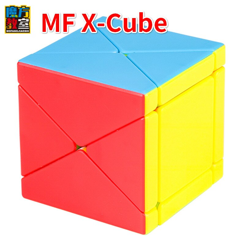Moyu Mofangjiaoshi X Cubo Fisher Cubo oblicuo Cubo mágico 3x3x3 rompecabezas para adultos juegos educativos juguetes