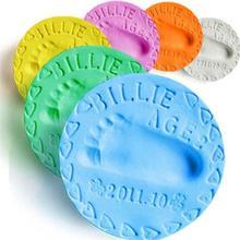 Baby Handprint Footprint Mud Safe Newborn Baby Souvenirs Hand Foot Print Maker Keepsake Soft Clay Toy 20g