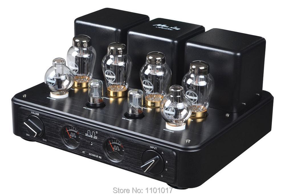 Meixing Mingda MC368-B90 KT90, amplificador HIFI de tubo con pulsador, lámpara integrada exquisita, amplificador con nombre antiguo MC368-BSE