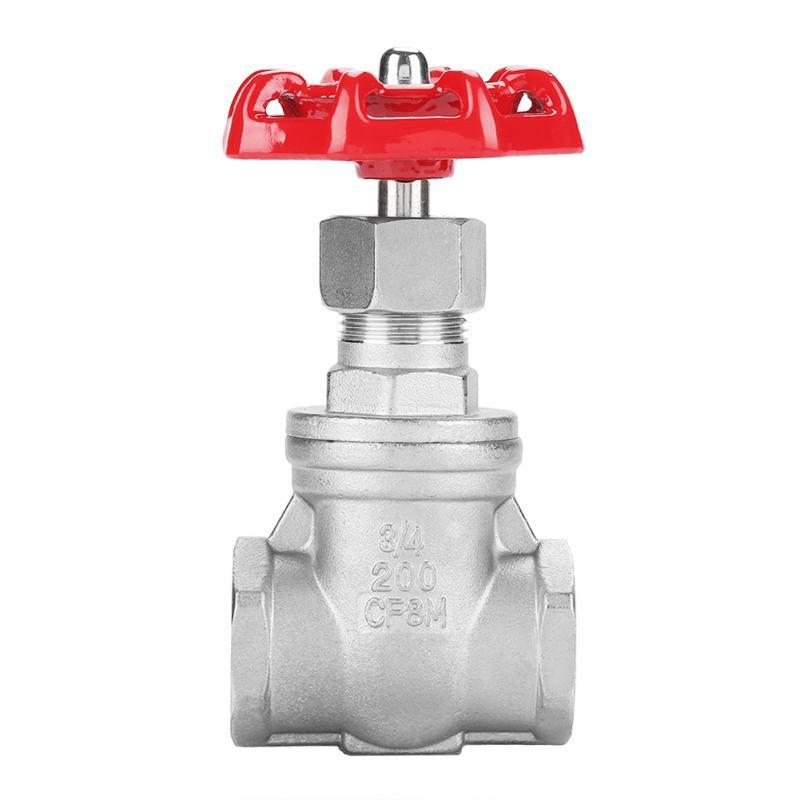 Válvula de compuerta DN15 DN20 DN25 BSPP G3/4 G1/2 G1, válvula rotativa para agua, aceite, Gas, herramienta profesional de acero inoxidable