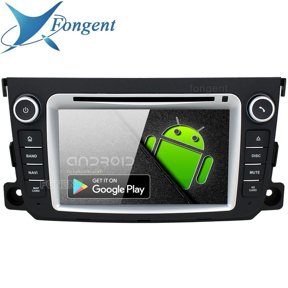 Android 9,0 unidad para Mercedes Benz Smart Fortwo, 2011, 2012, 2013, 2014 Radio GPS navegador estéreo 4 + 64GB IPS DVD reproductor Multimedia