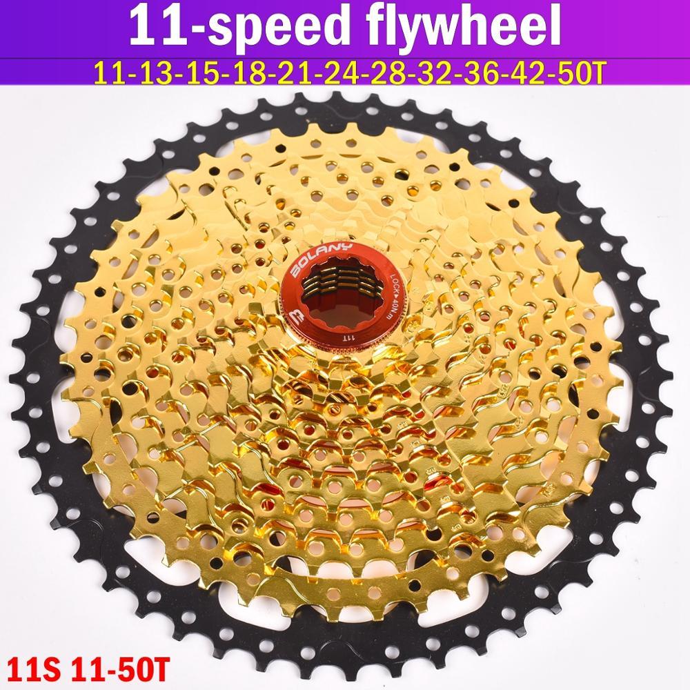 Volante de bicicleta de 11 S 11-42 46 50T, rueda dentada tipo MTB, rueda dentada de 11 velocidades, ratio de ancho de piezas de bicicleta para M7000 M8000