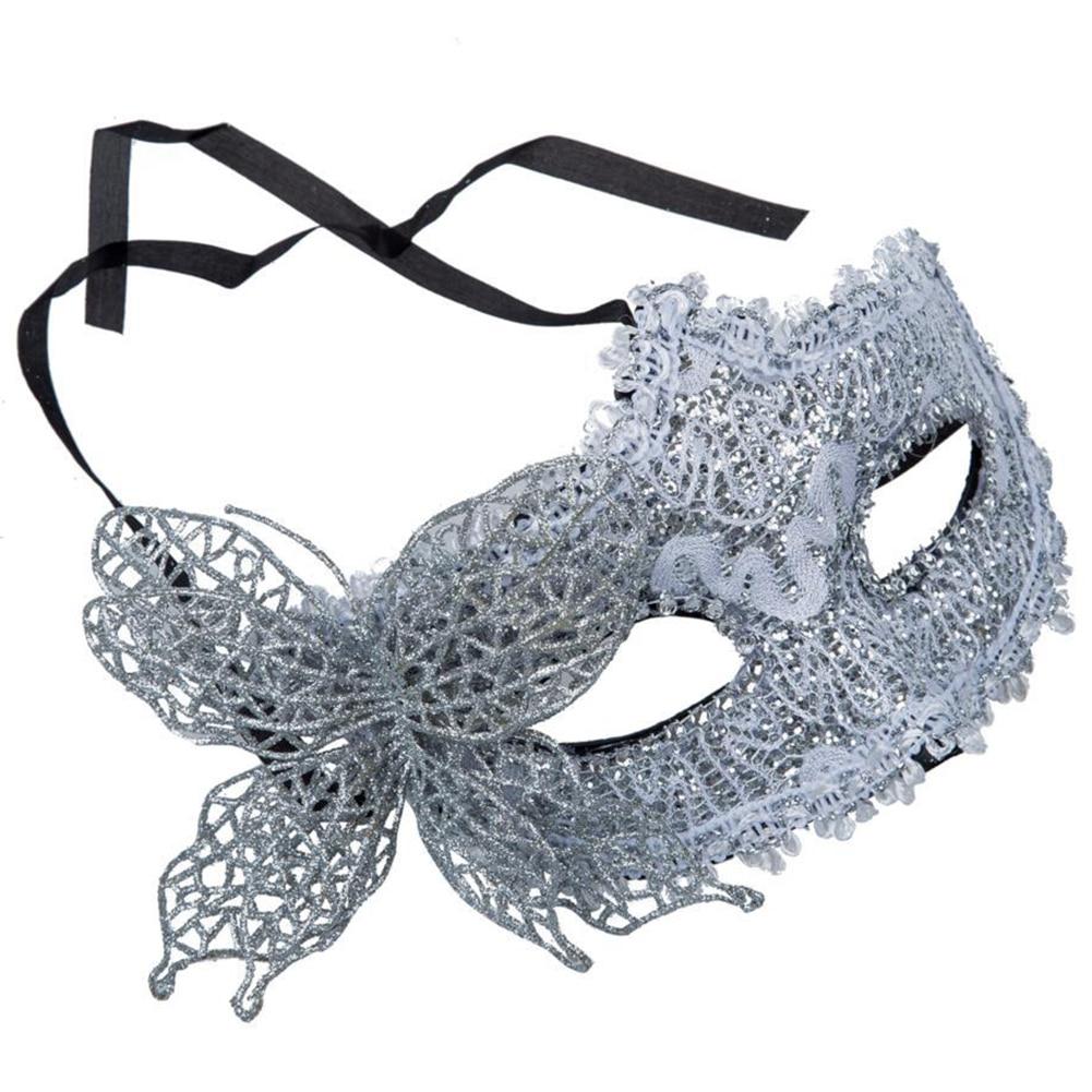 Маска для лица пикантные кружево Венецианский Маскарад мяч Хэллоуин нарядное