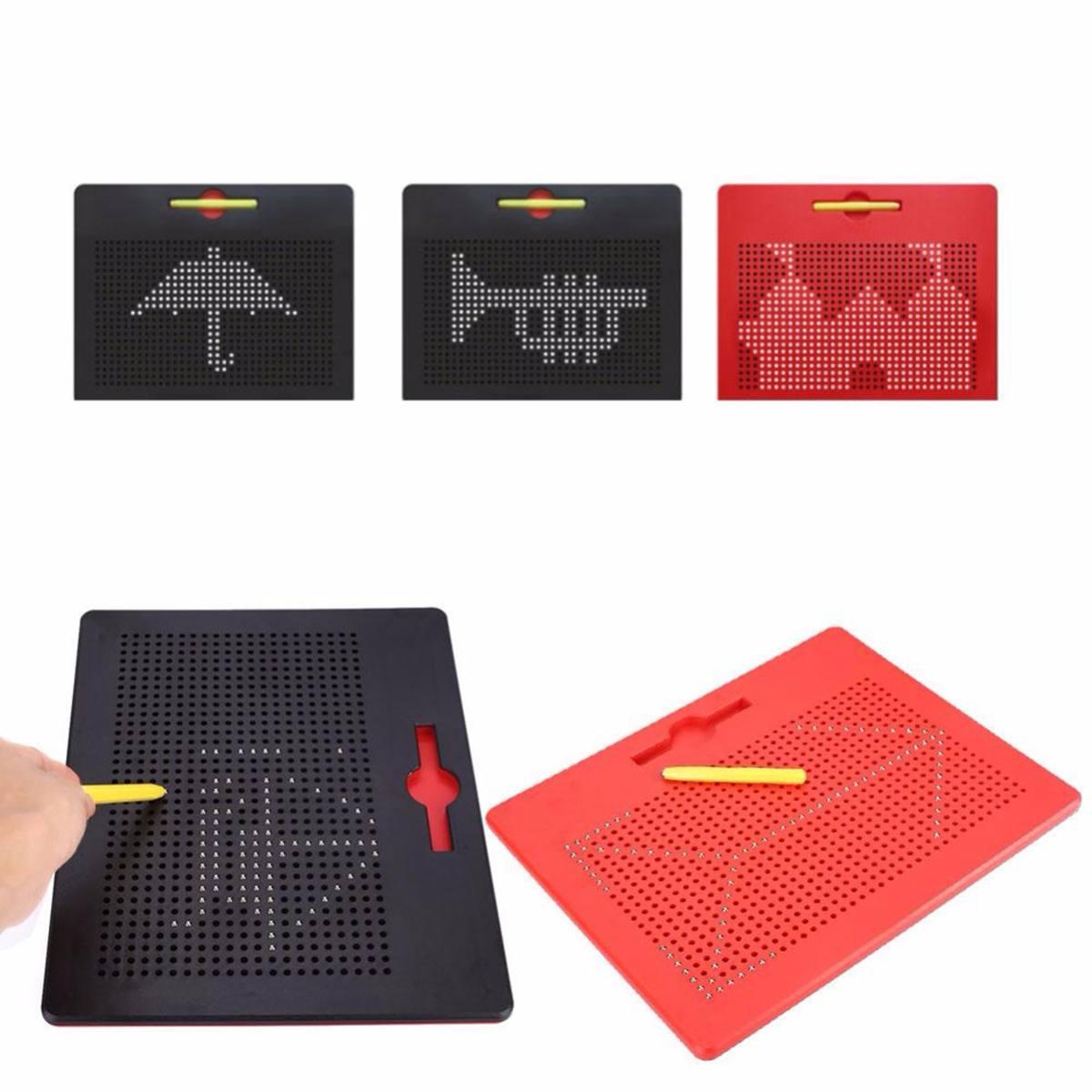 Большой магнитный планшет магнитная подушка доска для рисования шариковая Магнитная Стилус Шариковая ручка обучающая образовательная дос...
