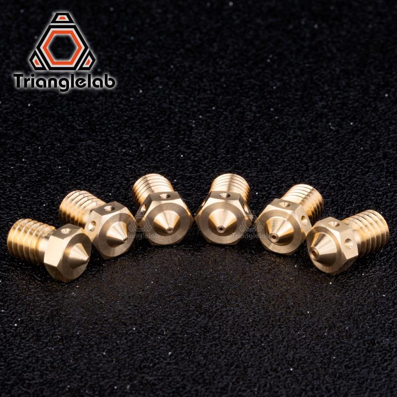 Trianglelab 1pc Top Quality V6 Nozzles For 3d Printers Hotend 3d Printer Nozzle For E3d Nozzles Hotend Titan Extruder 3d Printer Parts Accessories Aliexpress