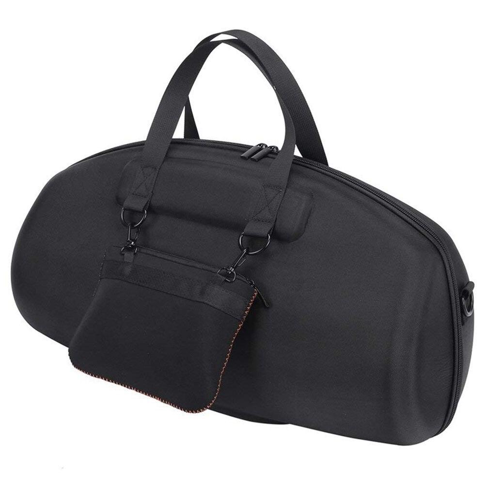 Caliente-para JBL Boombox portátil Bluetooth impermeable altavoz Estuche Duro bolsa de transporte caja protectora (negro)