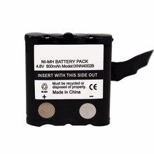Pro IXNN4002B 800mAh NI-MH Batterie Pour MOTOROLA TLKR T80 T80Ex XTR446 XTB446 XT180 XTK446 TLKR T61 T81 T5 T6 T7 T8 T50 T60 Radio