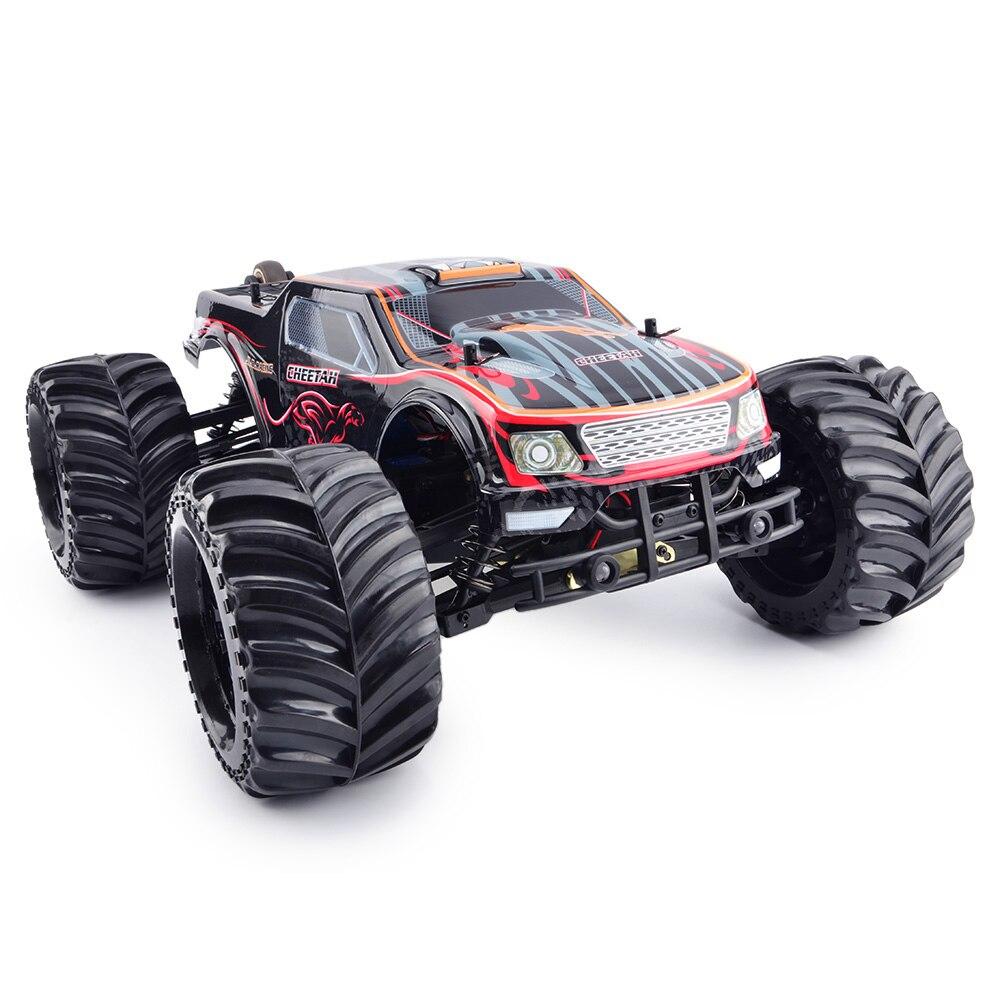 JLB RC Cars 2,4G Cheetah 4WD 1 / 10 80 km/h Buggy de alta velocidad RC coche RTR 4 ruedas Motor sin escobillas diseño & Wltoys A979/A959