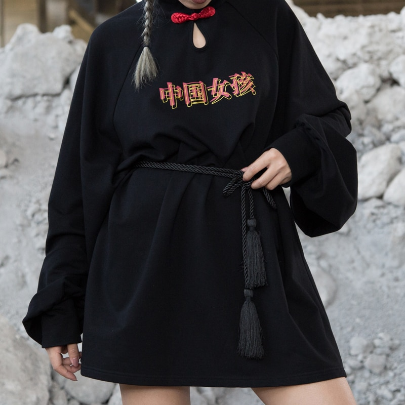 harajuku estilo chines lanterna manga solta carta das mulheres hoodies roupas streetwear
