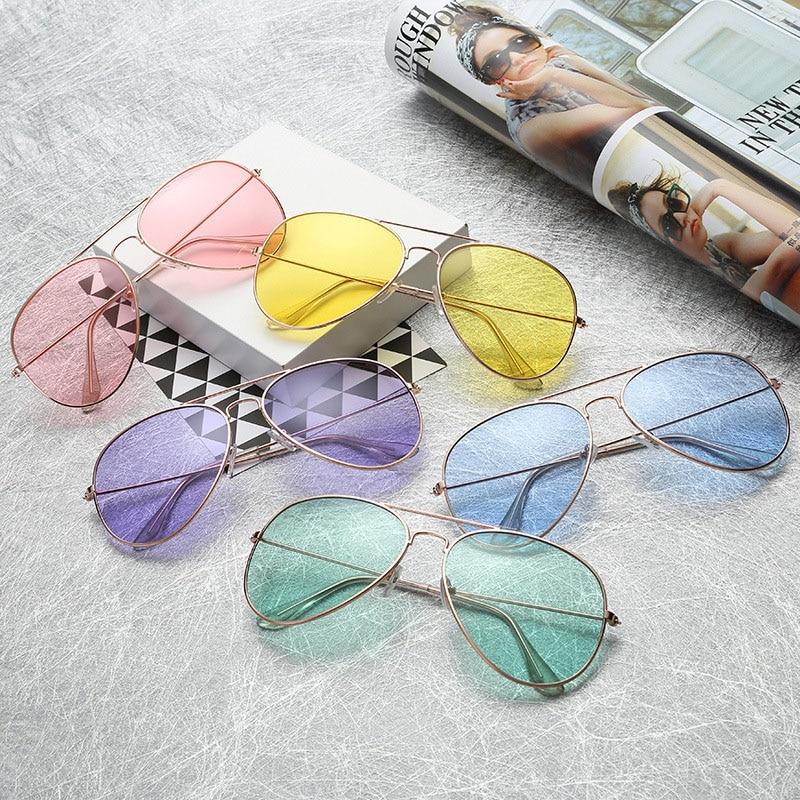 Classic Retro Vintage Pilot Sunglasses Unisex Women Men Outdoor Sports Eyewear Sun Glasses Female Oc