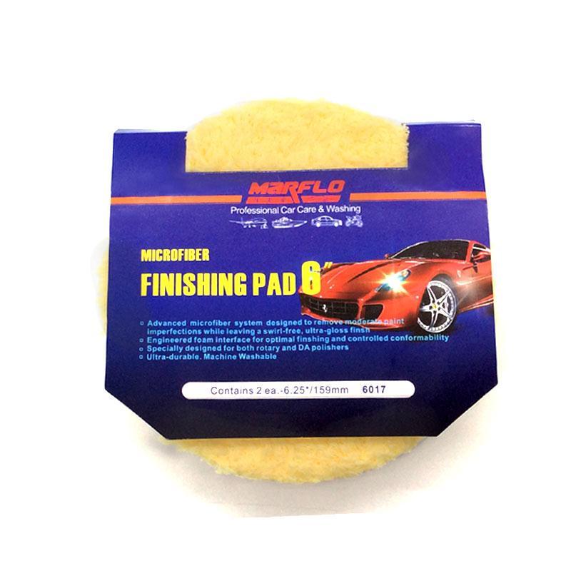 "Polishing Pad Polishing Disc Car Detailing Tools 6"" Microfiber Buff Sponge Finishing Pad Marflo Remove Moderate Paint Car Care"
