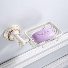 Porte-savon Antique/blanc   Vaisselle à savon, porte-savon de bain, rangement des distributeurs de savon, accessoires de salle de bain, support de savon noir