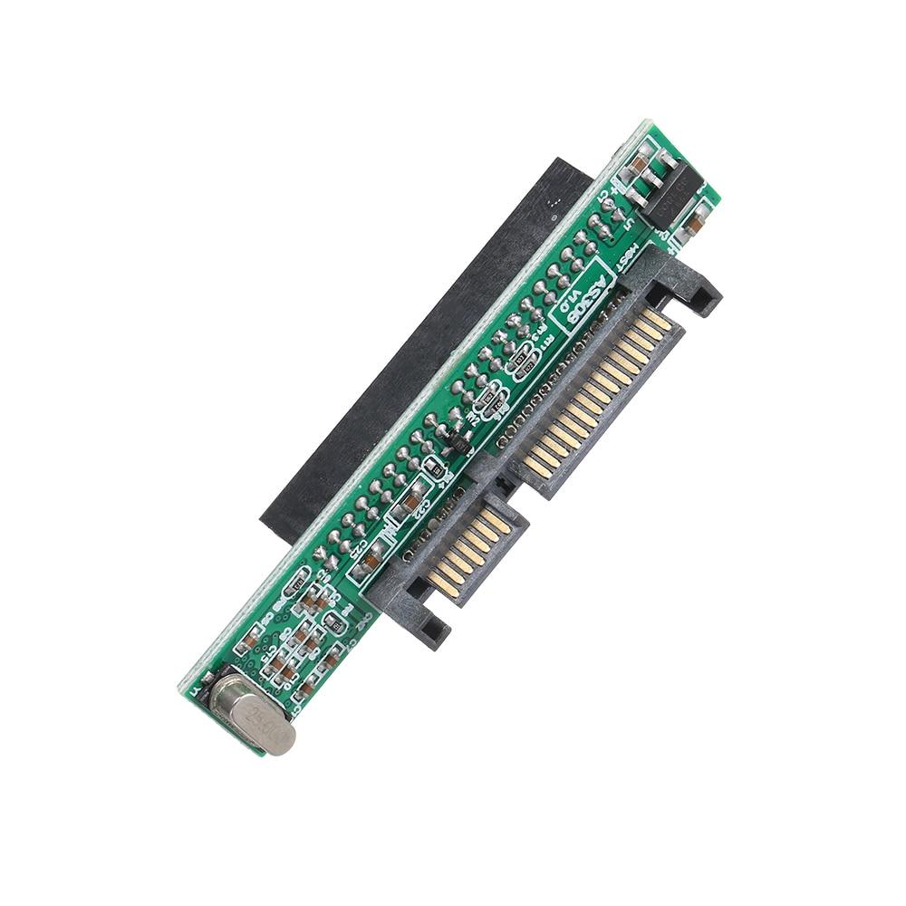 Adaptador IDE a SATA de 2,5 pulgadas compatible con unidad de disco duro HDD o SSD ATA a convertidor de puerto de 44 pines aprobado chip JM20330