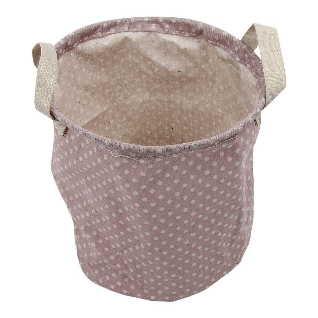 Bolsa clasificadora de ropa JEYL, cesto para juguetes para lavandería, ropa, cesta grande de almacenamiento, diseño punto rosa
