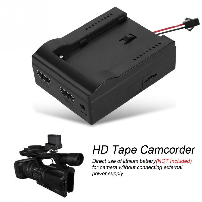 Grabadora de cinta de vídeo videocámara de cinta HD digitalizador HDMI grabación AV Cassette a tarjeta TF diseño ergonómico de alta calidad