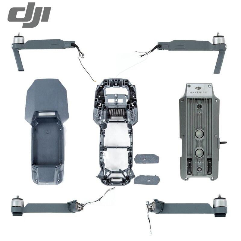 Запасные части для DJI Mavic Pro, корпус для тела, левый и правый передний двигатель, рычаг, ножка, камера, карданный сигнал, плоский кабель, аксессуары