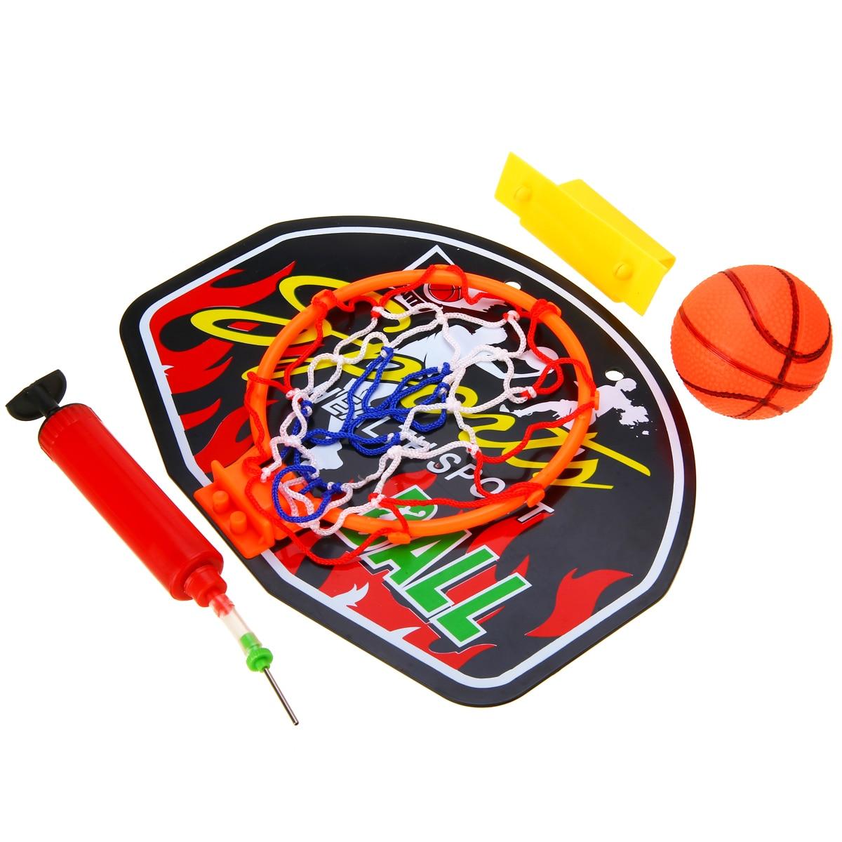 Indoor Plastic Mini Basketball Backboard Hoop Net Set With Basket Ball For Kids Child Game Portable Basketball Backboard Hot