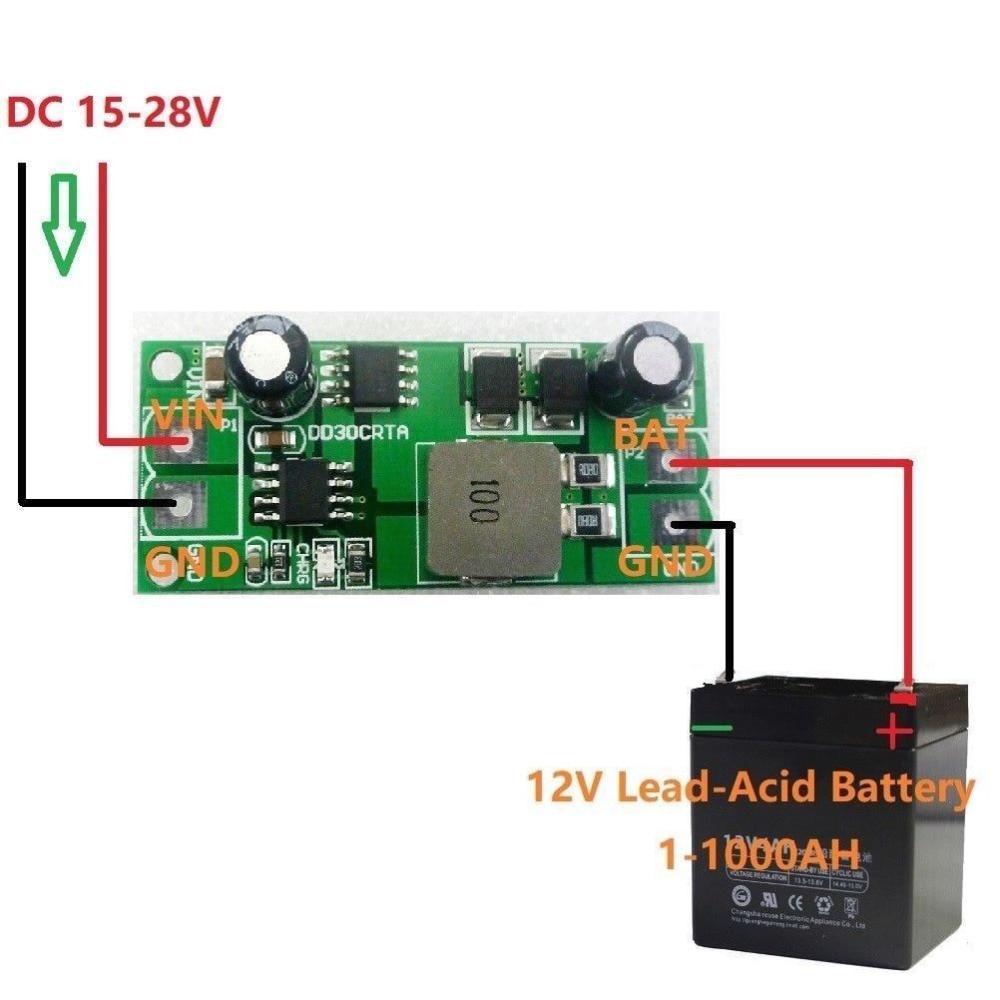 3A 1-1000A 12V свинцово-кислотный аккумулятор зарядное устройство Зарядка для UPS автомобиля солнечной батареи