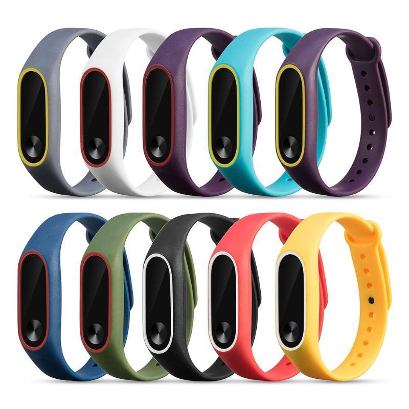 Correa de silicona colorida para reloj, correa de silicona para reloj inteligente, repuesto de dos colores, accesorios de banda para niños