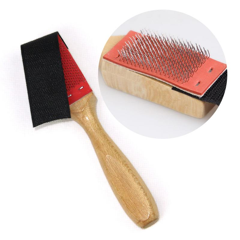 Limpiadores de cepillo de zapatos de suela de ante de madera, zapatillas de ballet, cepillos de limpieza, cepillo para calzado