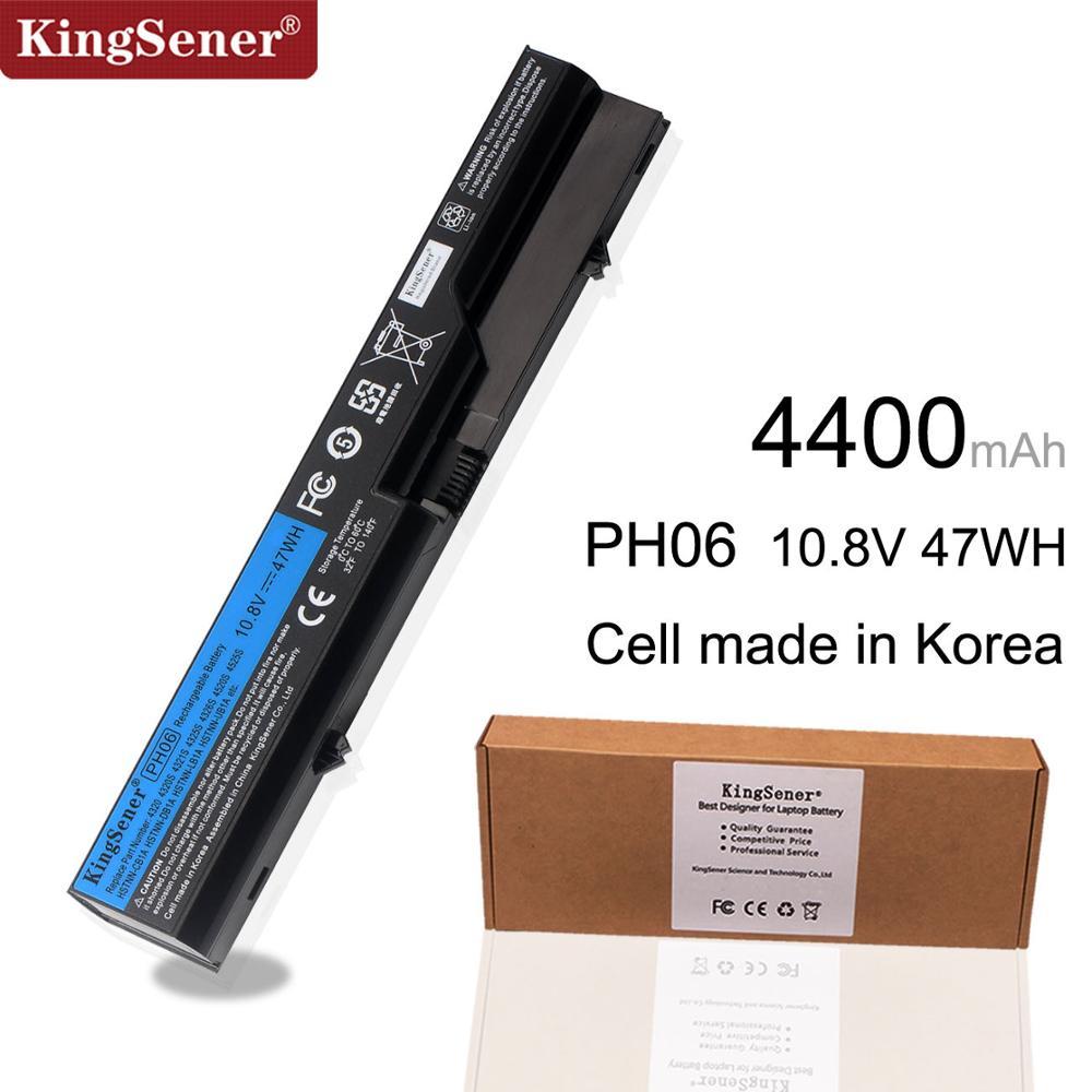 Kingsener Corea celular PH06 batería para HP Probook 4520, 4520s 4525s 4321, 4321s 4320 de 4320s 4320t 4325s 420 de 425 de 320 HSTNN-UB1A PH09