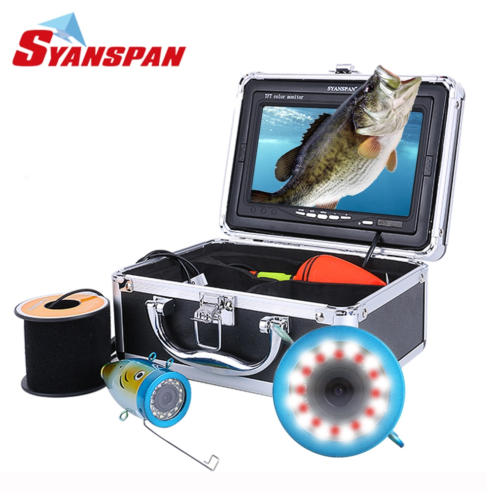 Original Fish Finder 15/30/50M DVR 1000TVL Underwater Hunting Video Camera for fishing 7\