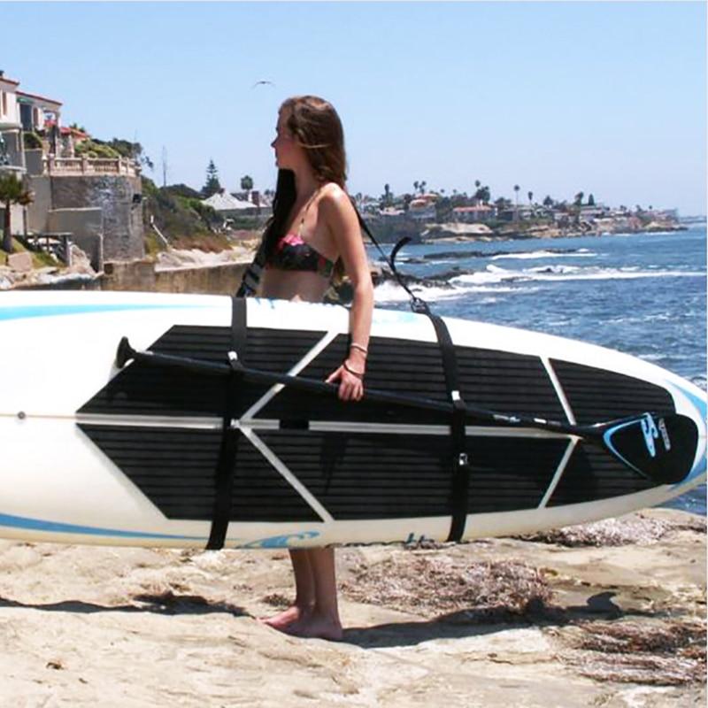 Einstellbare Surfbrett Schulter Tragen Carry Sling Stand Up Paddle Board Träger Surfen Paddleboard Bord Wakeboard