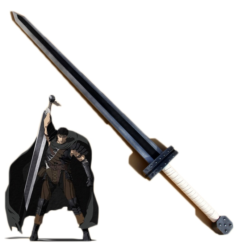 Espada larga BERSERK Guts, accesorio de PVC para Cosplay