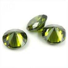 1000 pièce/Alot perles en vrac zircon cubique pierre grenat Violet améthyste zircon pierre pour anneau