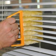 Nettoyage utile de chiffon de climatiseur de brosse de nettoyage de fenêtre de microfibre avec le chiffon de nettoyage lavable de lame aveugle vénitienne