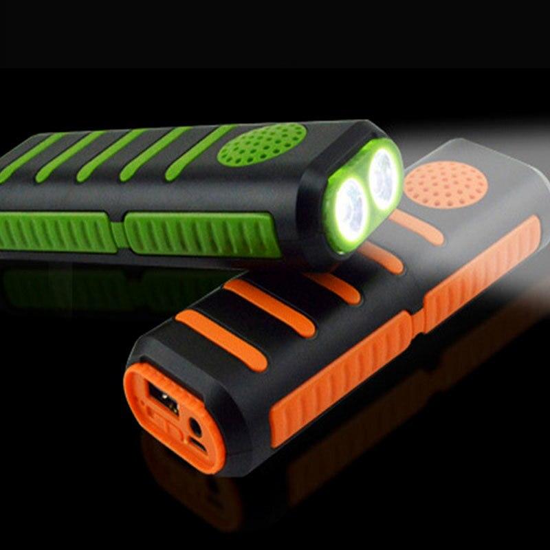 Linterna portátil con música, Altavoz bluetooth de alta potencia, linterna 3 en 1, powerbank led con batería de 18650, para exteriores, mp3 y videojuegos