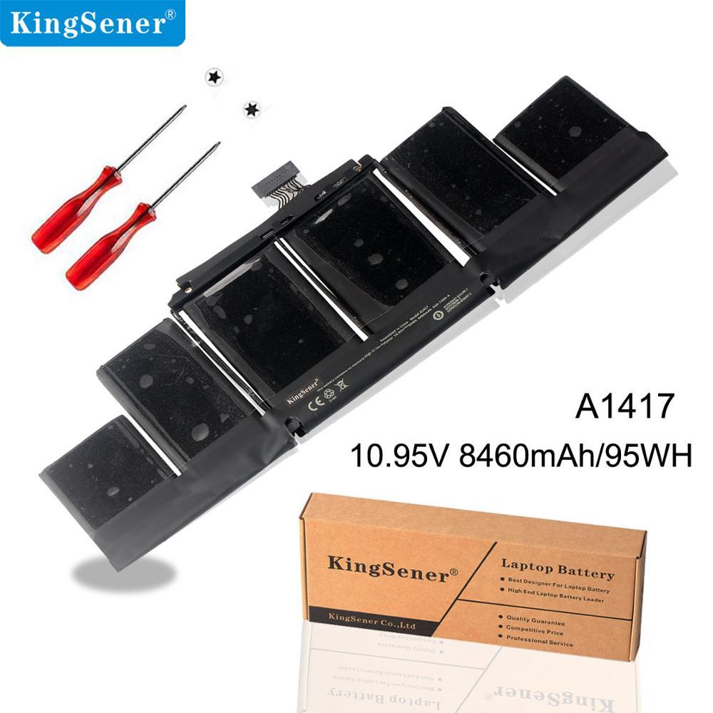 "Аккумулятор KingSener для ноутбука Apple A1417 A1398 (2012 ранняя версия 2013) для MacBook Retina Pro 15 ""подходит для ME665LL/A ME664LL/A"
