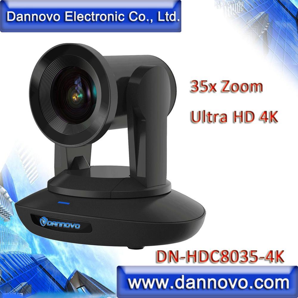 DANNOVO-كاميرا مؤتمرات فيديو 4K Zoom 35x ، للبث المباشر IP ، SDI ، HDMI ، USB3.0 PTZ