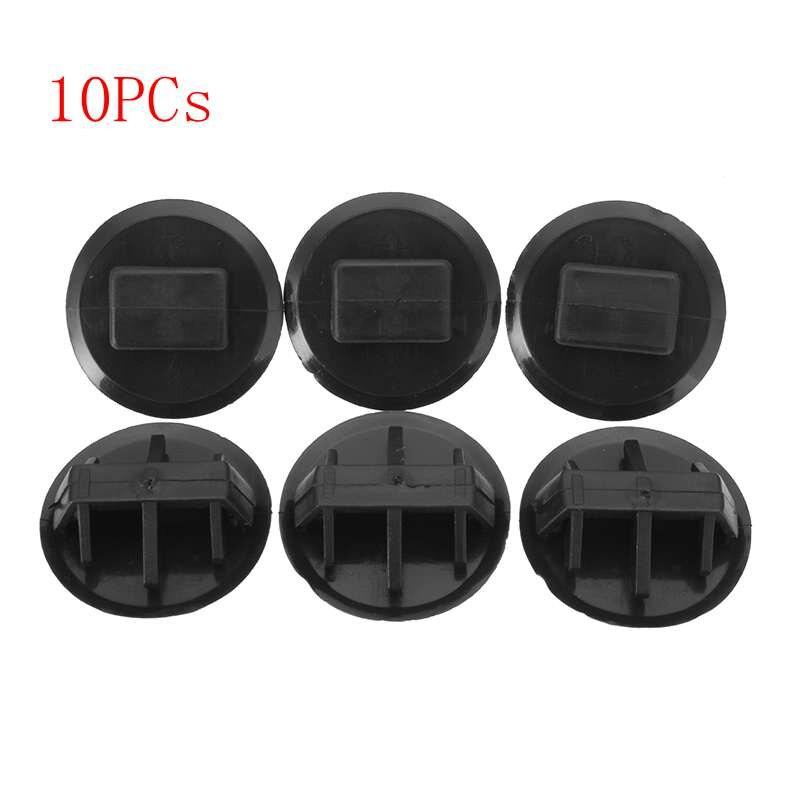 10pcs New Black Nylon Side Skirt Moulding Clips BP4L-51-SJ3 for Mazda 3 5 6 CX-7 CX-9 RX-8
