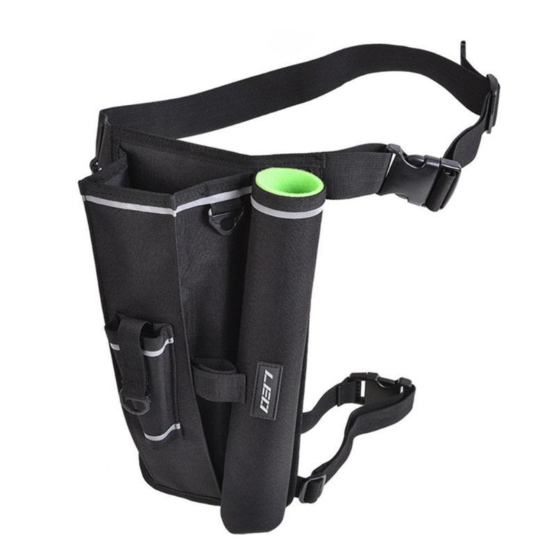 Outdoor Carp Fishing Bag 600D Oxford Cloth Fishing Tackle Rod Bag Waist Drop Leg Pack Rod Accessaries Storage Bag