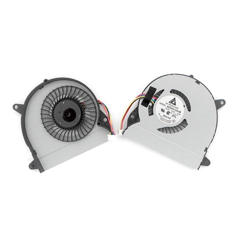 Novo e Original CPU Laptop Cooler Fan Para ASUS X32 U32J U32JC U32U U32V U32VJ U82U U82U X32U Refrigeração KDB05105HB-BJ23 5 V 0.4A 4PIN