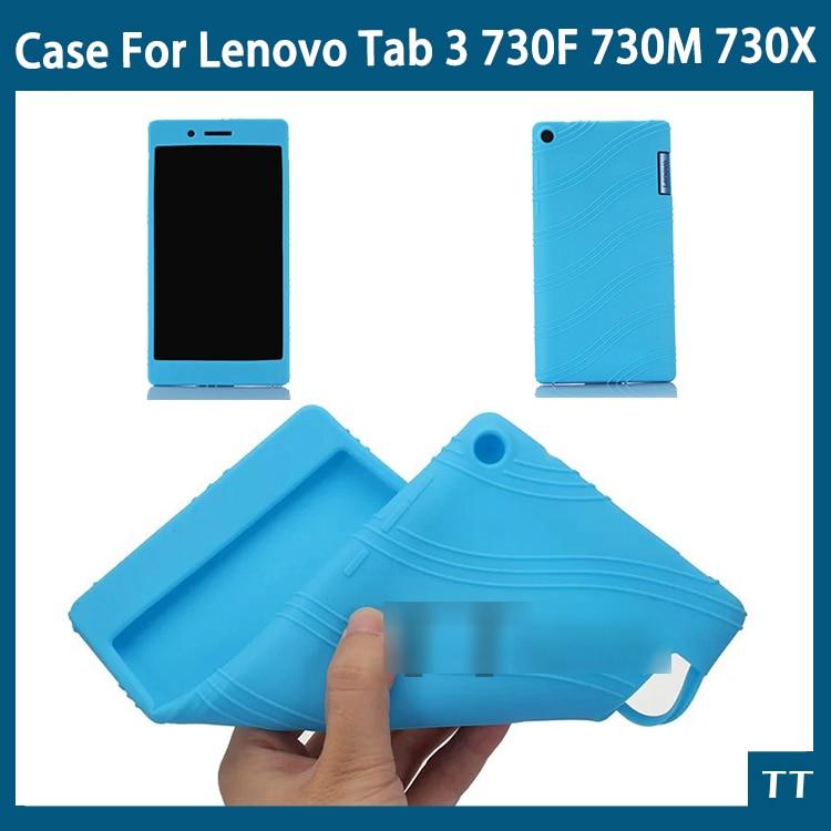 Funda de silicona blanda para Lenovo Tab 3 730, funda para Lenovo Tab 3, 730F, 730M, 730X, 7 pulgadas, tablet y pc