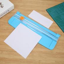 1 PC Triple Tracka A4 Papier Trimmer Klingen für Foto Papier Cutter Guillotine Karte Trimmer Home Office Mini Papier Cutter