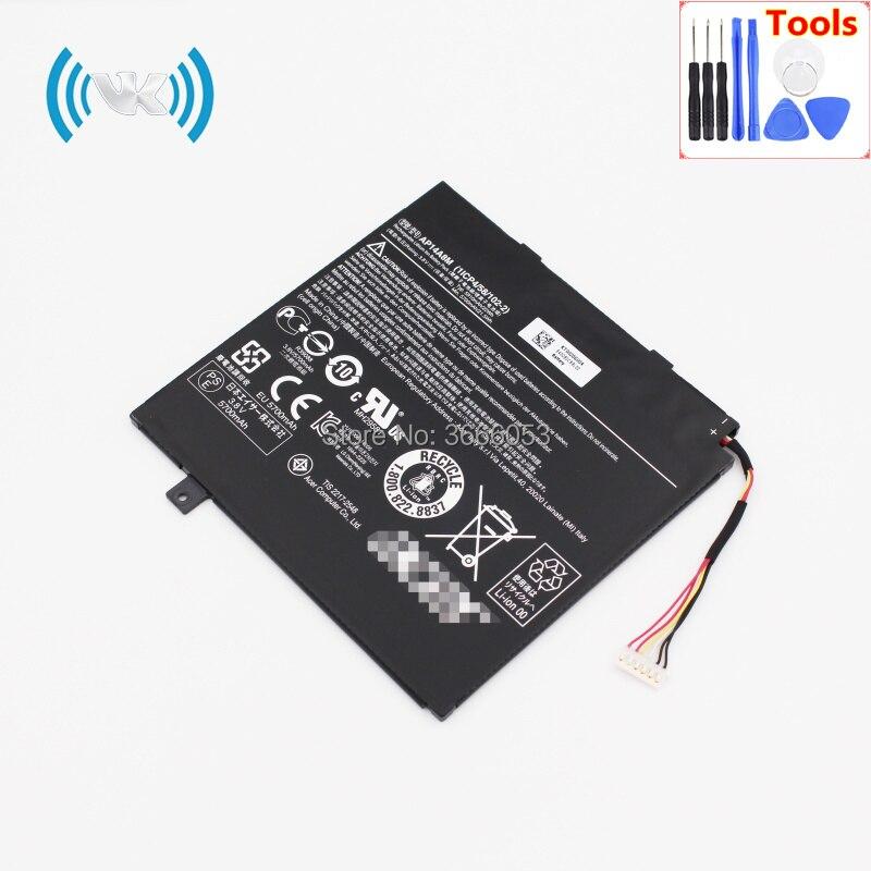 VK 5930mAh/22Wh 3.8V AP14A8M Battery For Acer Aspire Switch 10 SW5-011 SW5-012 10-inch Tablet Series Li-polymer Bateries Inbuilt