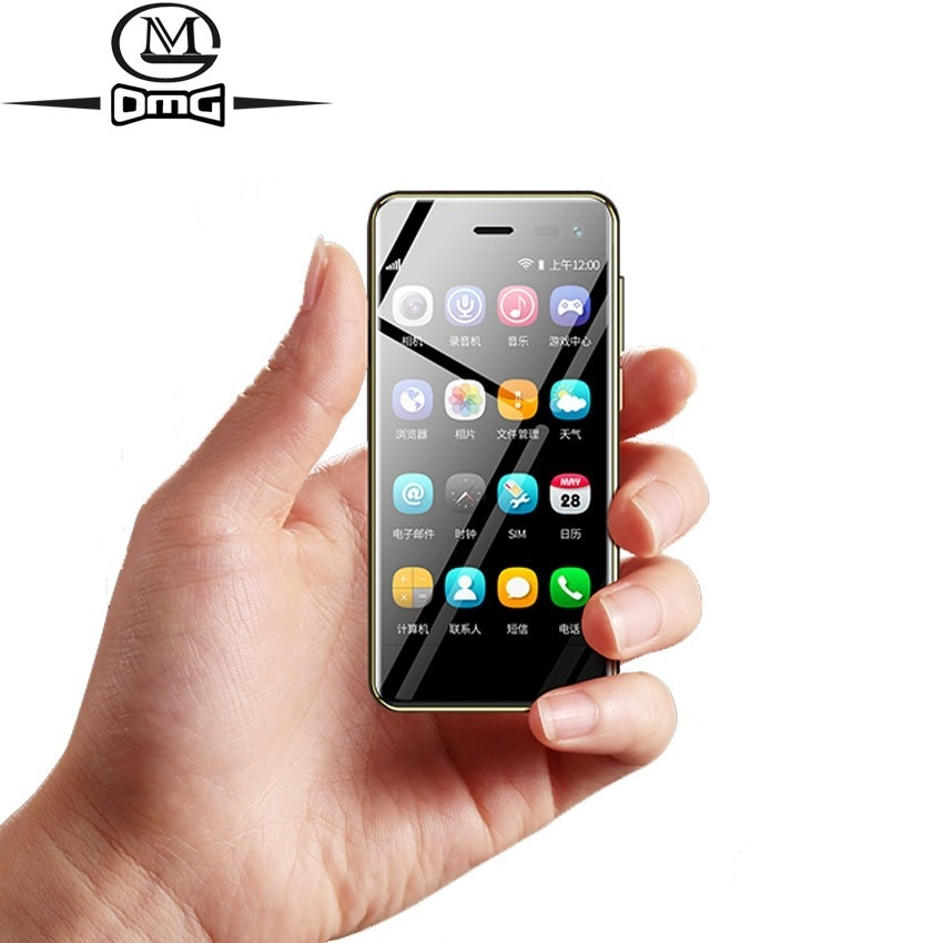 3.15 inch telephone small mini android 8.1 Smartphones cheap 4G Quad Core new cell phone unlocked 32GB ROM mobile phones u2