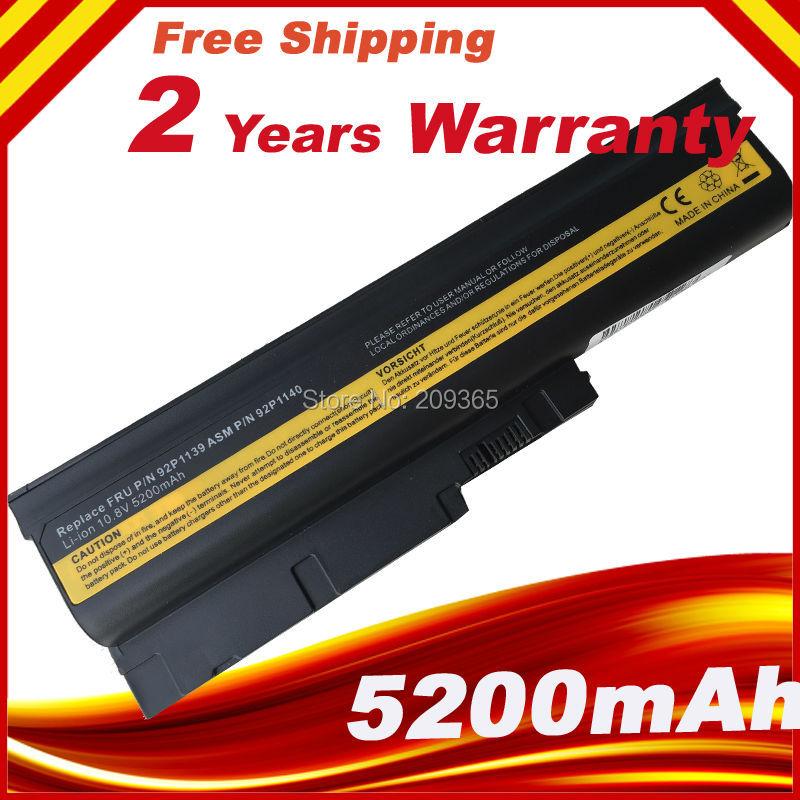 Bateria do portátil Para lenovo Thinkpad R500 T500 W500 SL500 Para IBM/lenovo ThinkPad R60 R60e R61 R61e R61i T60 t60p T61