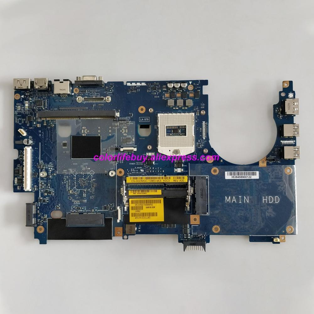 Placa base original GDMGC 0GDMGC CN-0GDMGC PGA947 VAR10 LA-9782P para ordenador portátil Dell Precision M6800 Notebook PC