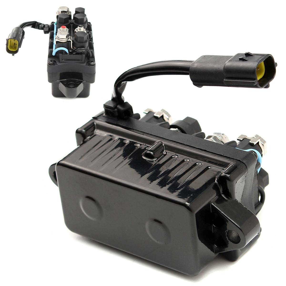 2-контактный 120а 12В +-20% водонепроницаемый лодочный мотор силовой отделкой реле для Yamaha подвесной 4-тактный двигатель 40-90HP алюминиевая бронза + пластик