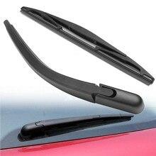Bras dessuie-glace arrière de voiture et jeu de lames pour Peugeot 107 pour Citroen C1 pour Toyota Aygo