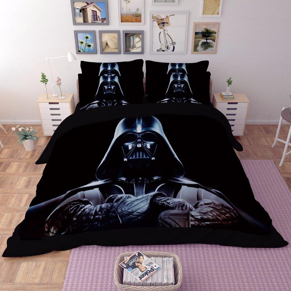 Star Wars Juego de cama 3D funda de edredón de impresión Twin full queen king hermoso patrón Real sets32