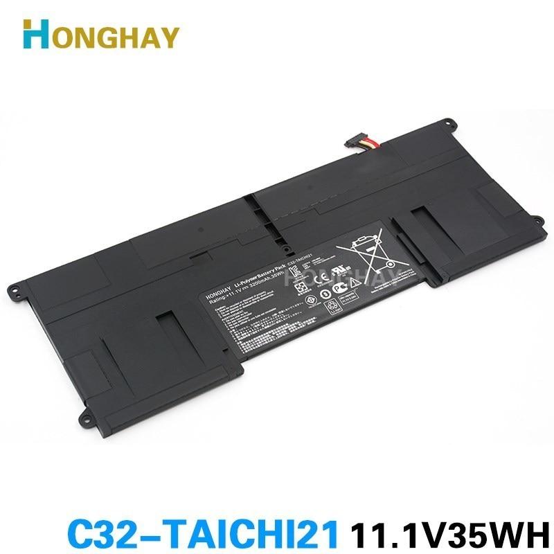 HONGHAY nuevo C32-TAICHI21 batería de portátil para ASUS Ultrabook TAICHI21 TAICHI 21 C32-TAICHI21 11,1 V