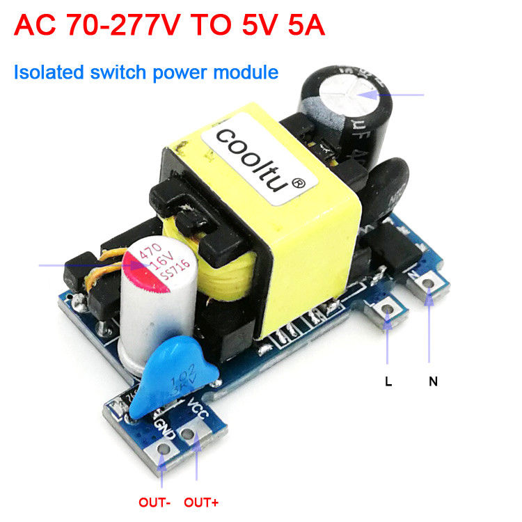 AC-DC Buck Converter 110V/220V to 5V 12V 24V 2A 1A 500mA isolation switch power supply module / Transformer controller smart