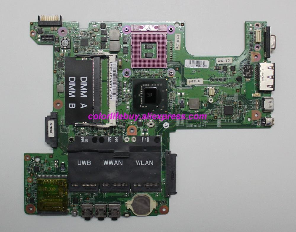 حقيقية CN-0PT113 BR-0PT113 0PT113 PT113 07211-3 48.4W002.031 اللوحة المحمول اللوحة الأم لديل انسبايرون 1525 الكمبيوتر الدفتري